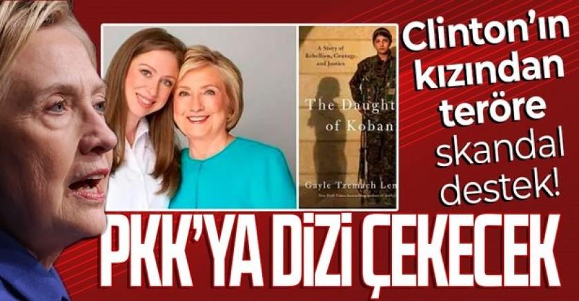 ABD'de Hillary Clinton'ın kızı, YPG/PKK'ya dizi çekecek