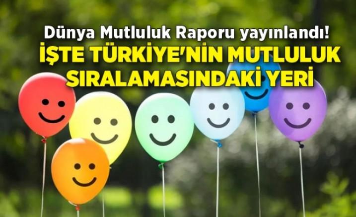 Dünya Mutluluk Raporu (!) yayımlandı