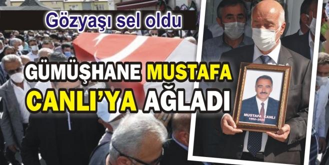 İSTAÇ Genel Müdürü Mustafa Canlı toprağa verildi