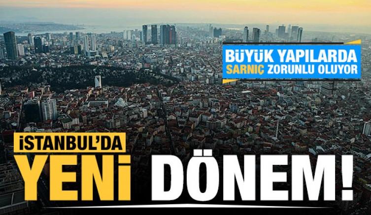 İstanbul'da binalara sarnıç zorunlu oldu