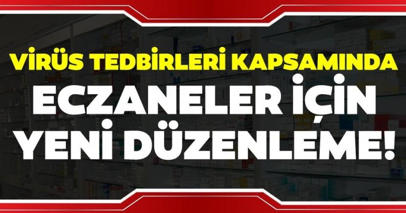 İSTANBUL'DA ECZANELER İÇİM HAFTASONU DÜZENLEMESİ