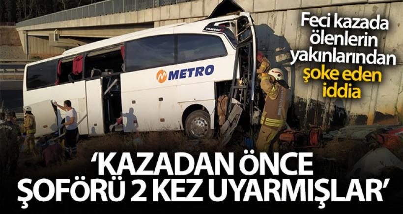 İSTANBUL'DA Kİ FECİ KAZADA ŞOK İDDİA! ŞOFÖR...