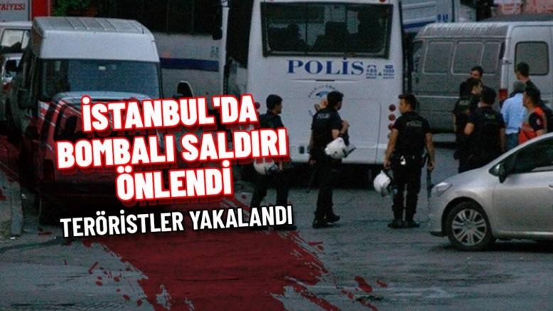 İstanbul otogarında bombalı saldırı girişimi