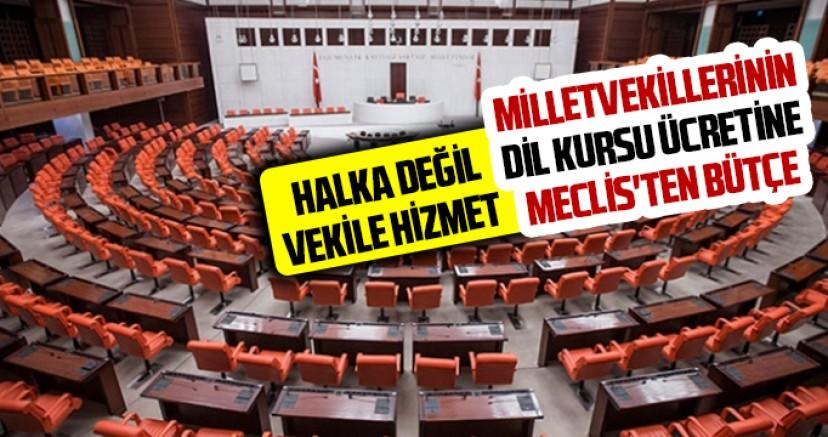 Milletvekillerinin dil kursu ücretine Meclis'ten bütçe