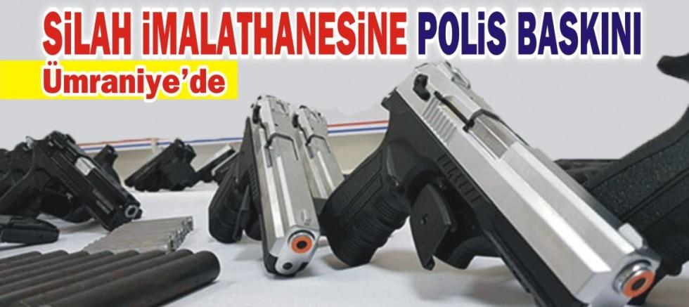 Silah imalathanesine polis baskını