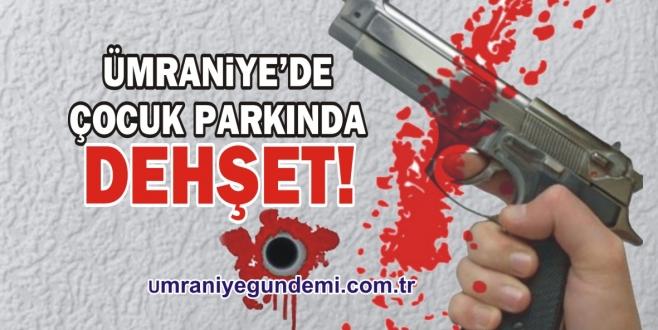 Ümraniye'de çocuk parkında silahlı bıçaklı kavga: 2 yaralı