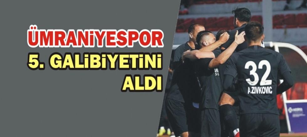 Ümraniyespor 5. galibiyetini aldı