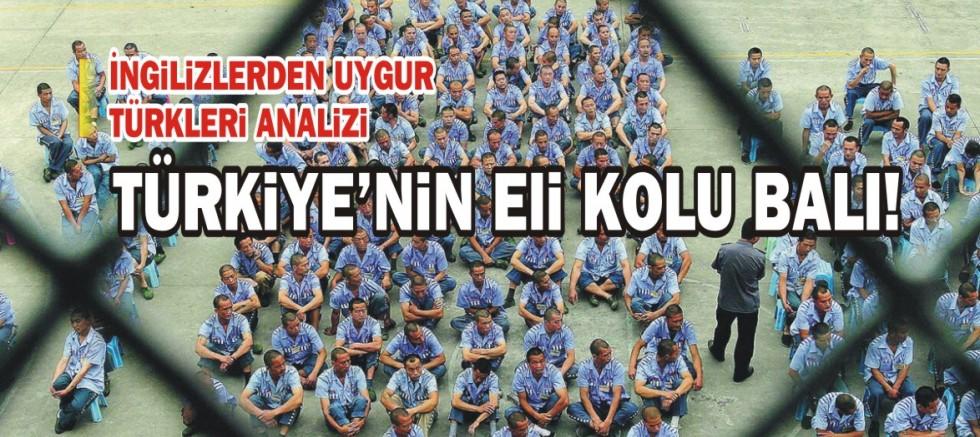 Uygur Türkleri İngilizlerin de gündeminde: Türkiye'nin eli kolu bağlı